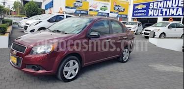 Foto venta Auto Seminuevo Chevrolet Aveo LT (2016) color Rojo precio $135,900