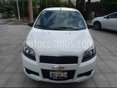 Foto venta Auto usado Chevrolet Aveo LT (2017) color Blanco precio $145,000
