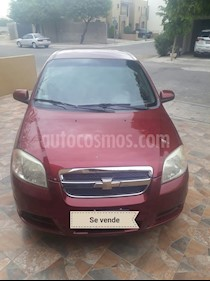 Foto venta Auto Seminuevo Chevrolet Aveo LT (2010) color Rojo Tinto precio $70,000