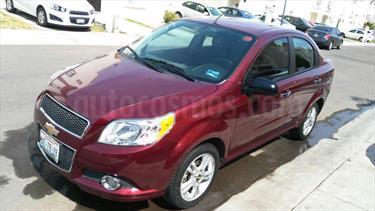Foto venta Auto usado Chevrolet Aveo LTZ Aut (2016) color Rojo Tinto precio $138,000