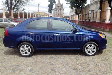 Foto venta Auto usado Chevrolet Aveo LTZ Aut (2014) color Azul Metalico precio $131,000