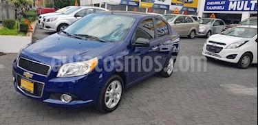 Foto venta Auto Seminuevo Chevrolet Aveo LTZ Aut (2017) color Azul precio $173,900