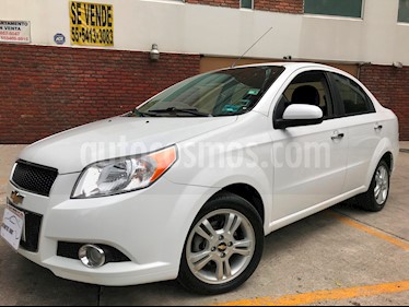 Foto venta Auto Usado Chevrolet Aveo LTZ Bolsas de Aire y ABS Aut (Nuevo) (2014) color Blanco precio $115,000