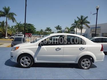 Foto venta Auto Usado Chevrolet Aveo LTZ (2017) color Blanco precio $179,000