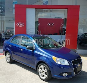 Foto venta Auto Seminuevo Chevrolet Aveo LTZ (2014) color Azul precio $125,000