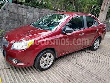 Foto venta Auto usado Chevrolet Aveo LTZ (2014) color Rojo Tinto precio $125,000