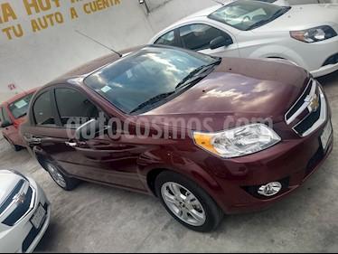 Foto venta Auto usado Chevrolet Aveo LTZ (2017) color Rojo Tinto precio $168,000