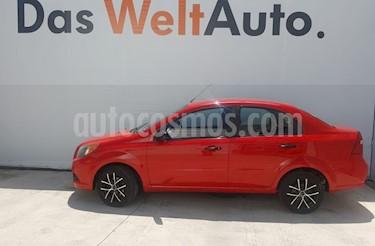 Foto venta Auto Seminuevo Chevrolet Aveo Paq A (2013) color Rojo Merlot precio $119,500