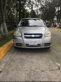 Foto venta Auto Seminuevo Chevrolet Aveo Paq A (2009) color Plata precio $69,000