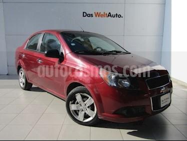 Foto venta Auto Usado Chevrolet Aveo Paq B (2013) color Rojo Victoria precio $99,000