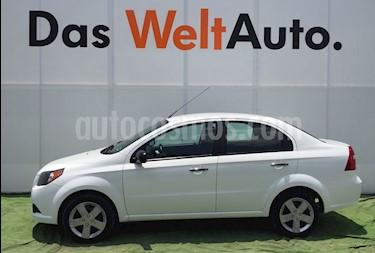 Foto venta Auto Usado Chevrolet Aveo Paq C (2017) color Blanco precio $166,000