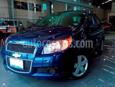Foto venta Auto Seminuevo Chevrolet Aveo Paq F (2017) color Azul Claro precio $169,000