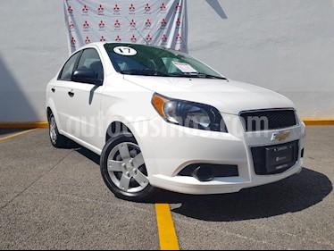 Foto venta Auto Usado Chevrolet Aveo Paq M (2017) color Blanco Candy precio $145,000
