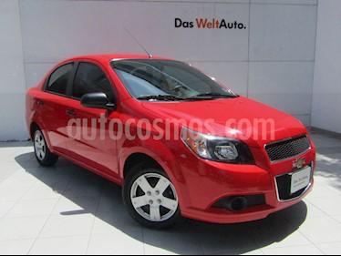 Foto venta Auto Usado Chevrolet Aveo Paq M (2017) color Rojo precio $149,000