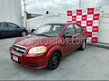 Foto venta Auto Seminuevo Chevrolet Aveo Paq M (2009) color Rojo precio $75,000