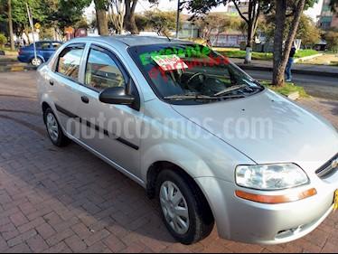 Foto venta Carro Usado Chevrolet Aveo sedan 1.600 Aire (2012) color Plata precio $19.000