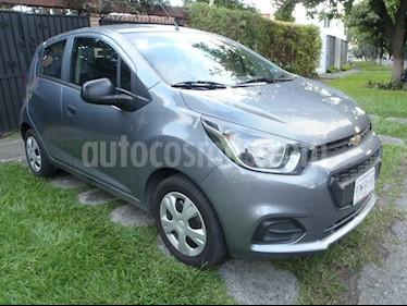 Foto venta Auto Seminuevo Chevrolet Beat LT (2018) color Gris Titanio precio $139,000