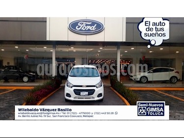 Foto venta Auto Seminuevo Chevrolet Beat LT (2018) color Blanco precio $137,000