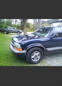 Foto venta carro usado Chevrolet Blazer S-10 4x4 V6,4.3i,12v A 1 2 (1999) color Azul precio u$s6.000
