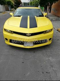 Foto venta Auto usado Chevrolet Camaro LT (2014) color Amarillo Daytona precio $320,000