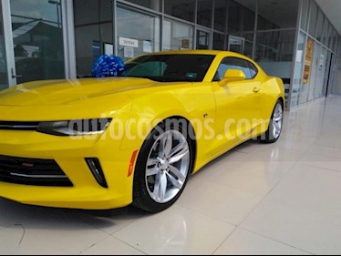 Foto venta Auto Seminuevo Chevrolet Camaro PAQ B RS (2016) color Amarillo precio $490,000