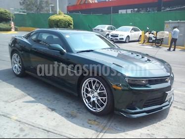 Foto venta Auto usado Chevrolet Camaro SS Aut (2015) color Verde precio $385,000