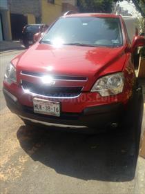 Foto venta Auto usado Chevrolet Captiva Sport LS Piel (2014) color Rojo Tinto precio $205,000
