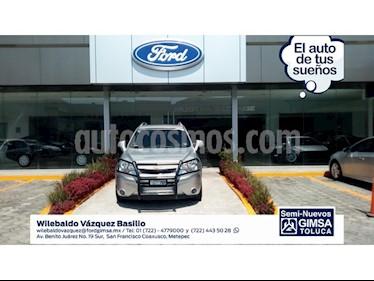 Foto venta Auto Usado Chevrolet Captiva Sport LT Piel (2012) color Gris precio $179,000