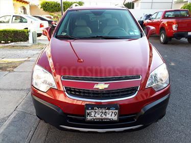 Foto venta Auto usado Chevrolet Captiva Sport Paq A (2010) color Rojo Merlot precio $150,000
