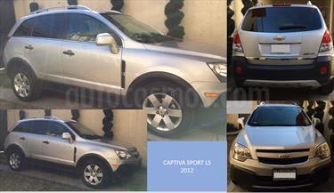 Foto venta Auto Seminuevo Chevrolet Captiva Sport Paq A (2012) color Plata precio $175,000