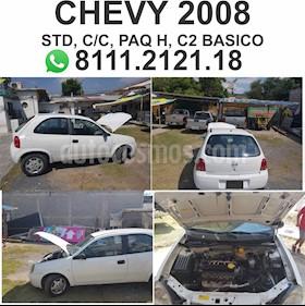 Foto venta Auto usado Chevrolet Chevy Sedan Paq H (2008) color Blanco precio $42,000