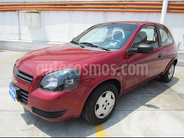 Foto venta Auto Usado Chevrolet Chevy 3P Paq D (2012) color Rojo Tinto precio $85,000