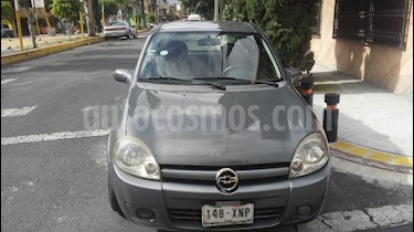 Foto venta Auto usado Chevrolet Chevy 3P Paq D (2008) color Gris Oscuro precio $39,500