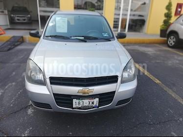 Foto venta Auto usado Chevrolet Chevy 3P Paq H (2012) color Plata precio $80,000