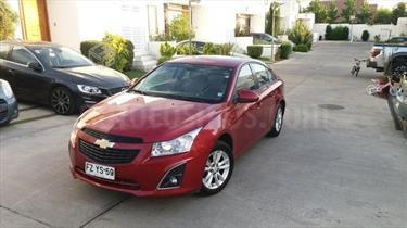 Chevrolet Cruze 1.8  Aut usado (2014) color Rojo Burdeos precio $6.300.000