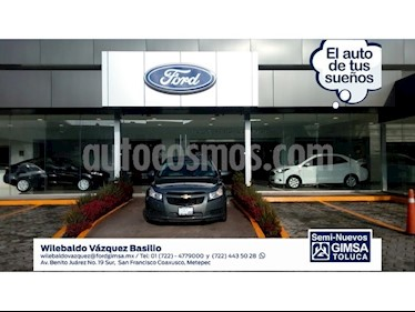 Foto venta Auto Usado Chevrolet Cruze LT  (2012) color Gris precio $110,000