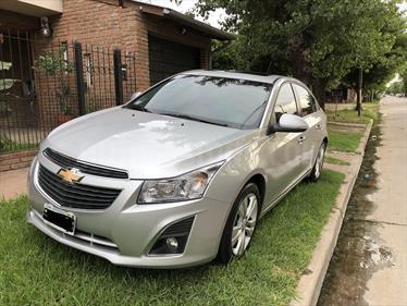 Chevrolet Cruze LTZ usado (2014) color Plata precio $510.000