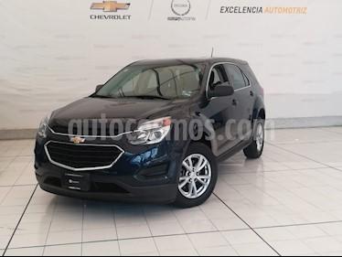 Foto venta Auto Seminuevo Chevrolet Equinox LS Paq. A (2017) color Azul Acero precio $305,000