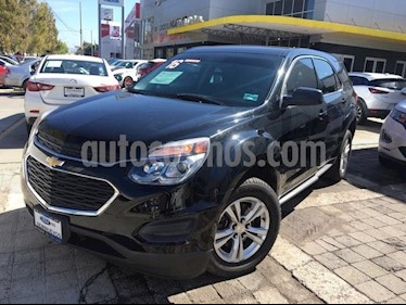 Foto venta Auto Usado Chevrolet Equinox LS PAQ D (2016) color Negro precio $280,000