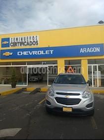 Foto venta Auto Usado Chevrolet Equinox LS (2017) color Plata precio $350,000