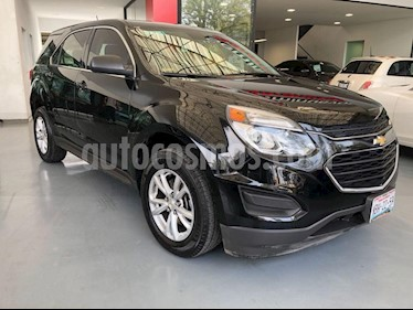 Foto venta Auto Seminuevo Chevrolet Equinox LS (2017) color Negro precio $319,000