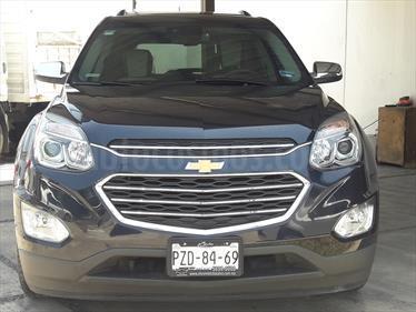 Foto venta Auto usado Chevrolet Equinox LTZ (2017) color Azul Zafiro precio $369,000