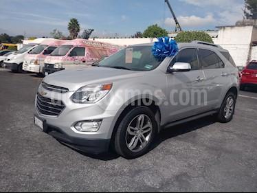Foto venta Auto Usado Chevrolet Equinox LTZ (2016) color Plata precio $318,000