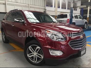 Foto venta Auto usado Chevrolet Equinox LTZ (2017) color Rojo precio $355,000