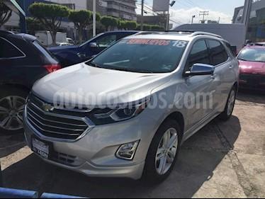 Foto venta Auto Seminuevo Chevrolet Equinox Premier Paq. F (2018) color Plata precio $445,000