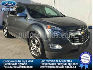 Foto venta Auto Seminuevo Chevrolet Equinox Premier Paq. F (2017) color Gris precio $340,000