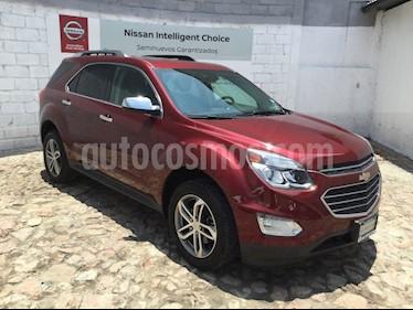 Foto venta Auto Seminuevo Chevrolet Equinox Premier (2017) color Rojo Metalizado precio $353,000