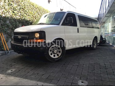 Foto venta Auto Seminuevo Chevrolet Express Passenger Van Paq D 8 Pas (V6) (2014) color Blanco precio $310,100