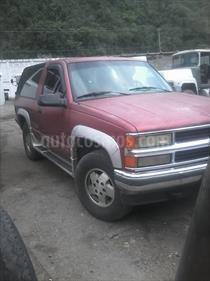 Foto venta carro usado Chevrolet Grand Blazer 2p 4x4 V8,5.7i,16v A 1 2 (1994) color Rojo Mica precio BoF55.000