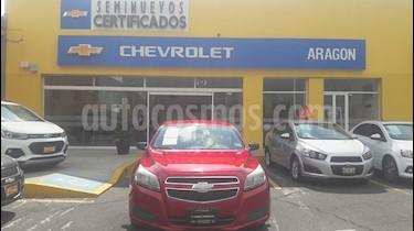 Foto venta Auto Usado Chevrolet Malibu 2.4L Paq B (2013) color Rojo precio $179,000